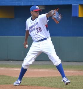 Josué Pérez fue el lanzador abridor de Puerto Rico versus Nicaragua